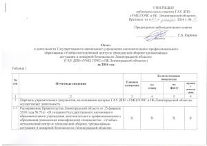 Отчет о деятельности УМЦ за 2016 г.